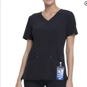 Scrub star black uniform scrubs top and bottom